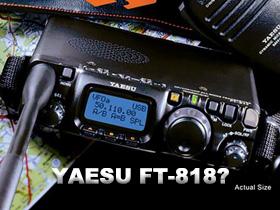 YAESU FT818 最新消息